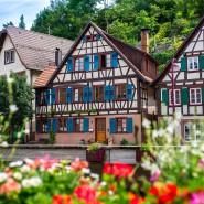 Schiltach, Baden-Württemburg, Duitsland