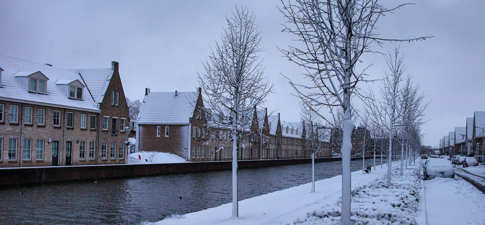 Sneeuw in Middelharnis – Kerstvakantie 2014