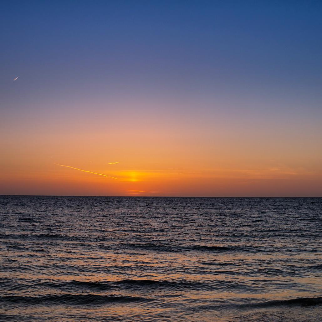 Zonsondergang – Brouwersdam